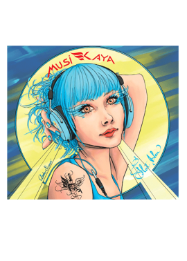 cd-mp3 Flot Bleu - MusiKaya