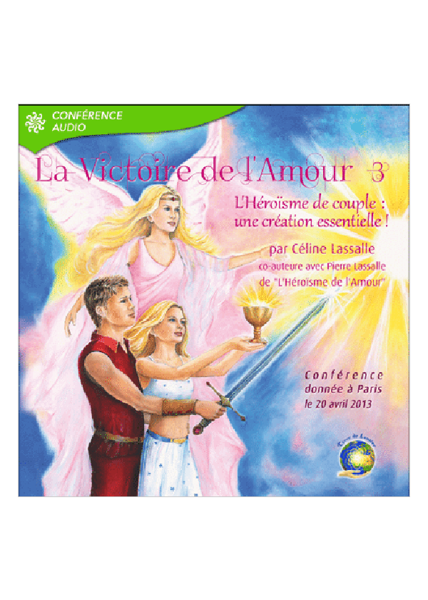 conference victoire de l'amour 3 - Celine Lassalle