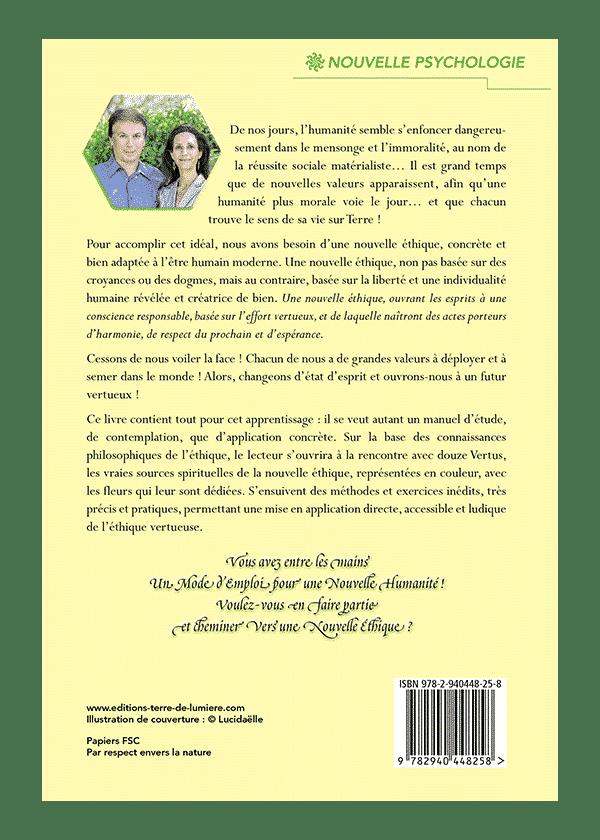 livre verso Vers une Nouvelle Etique
