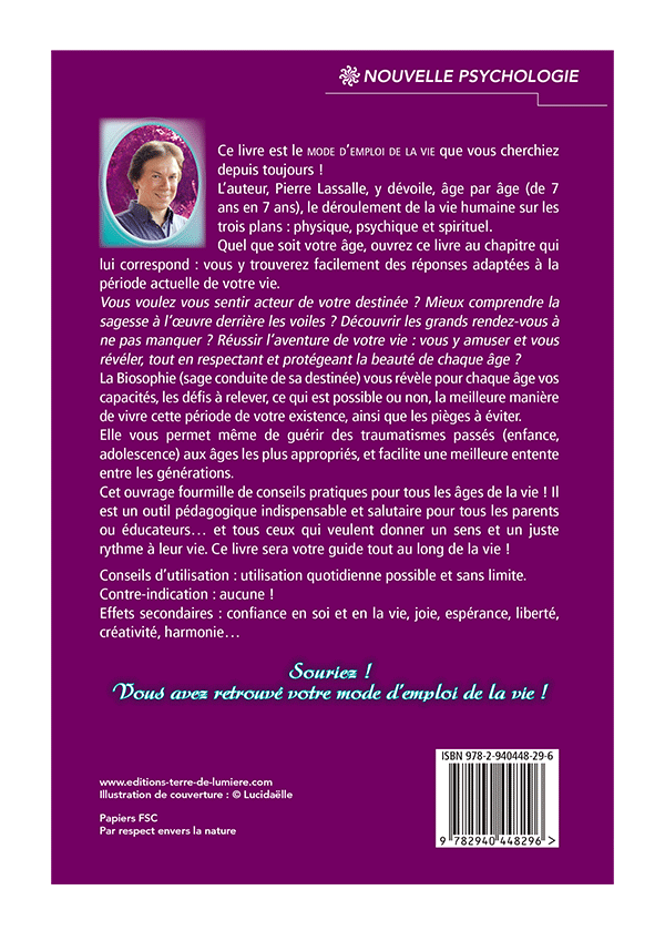 livre maitriser votre destinee - Pierre Lassalle