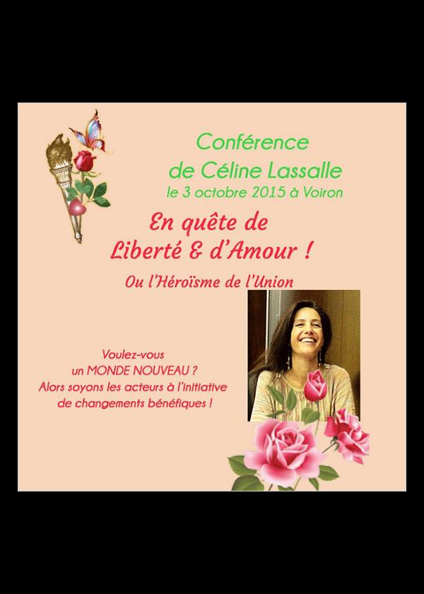 conference quete d'amour et liberte - Celine Lassalle