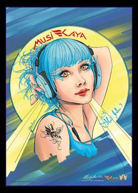 poster Amber Sweet - Kaya Team Universe