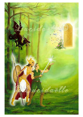 poster L'Aventure Héroïque - Lucidaëlle