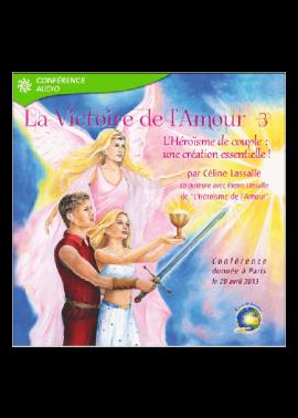 cd mp3 conférence La Victoire de l'Amour 3