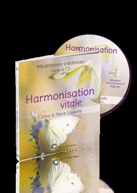 livre cd méditation Hamonisation Vitale - Céline et Pierre Lassalle