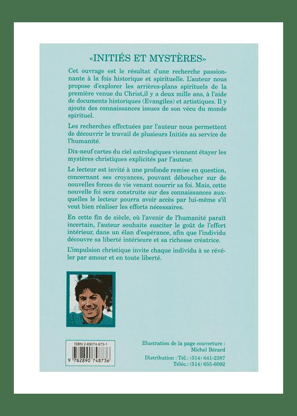 livre Initiés et Mystères couverture - Pierre Lassalle