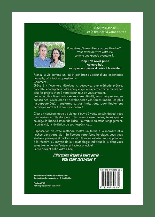 livre L'Aventure Héroïque couverture - Céline et Pierre Lassalle
