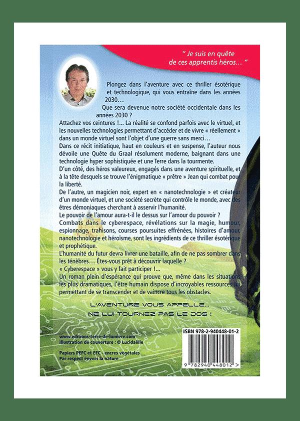 livre Cyberespace couverture - Pierre Lassalle