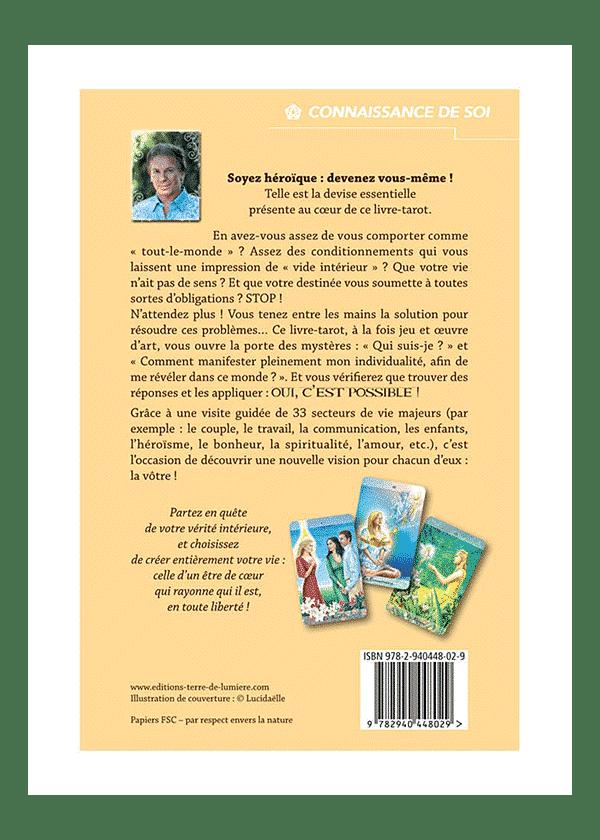 livre et cartes Le Nouveau Tarot de l'Individualisation couverture - Pierre Lassalle