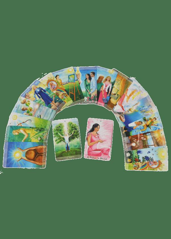 livre et cartes Le Nouveau Tarot de l'Individualisation cartes - Pierre Lassalle