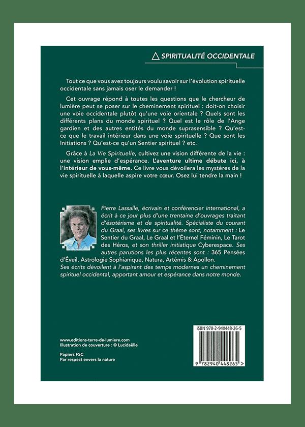 livre La Vie Spirituelle couverture - Pierre Lassalle