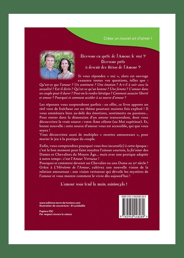 livre L'Héroïsme de l'Amour couverture - Céline et Pierre Lassalle