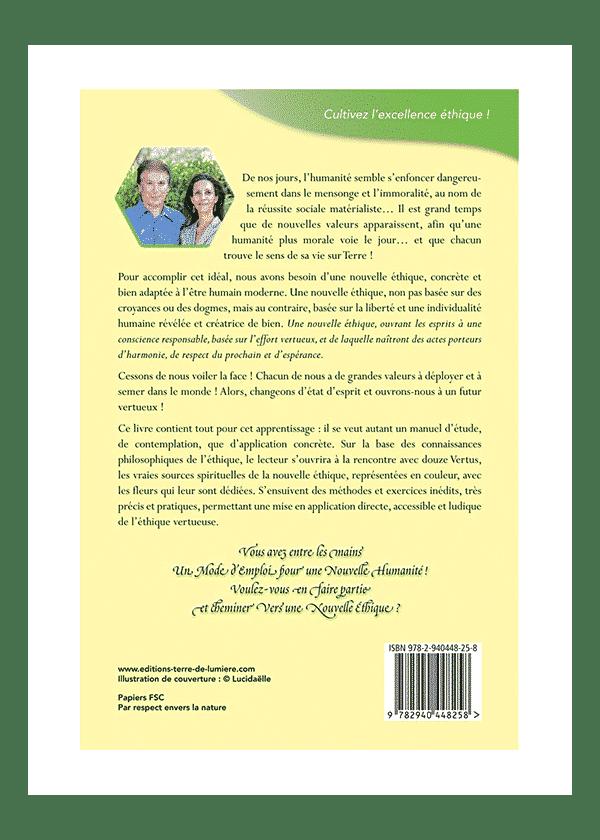 livre Vers une Nouvelle Ethique couverture - Céline et Pierre Lassalle