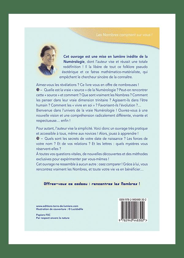 livre Numérologie Sophianique couverture - Pierre Lassalle