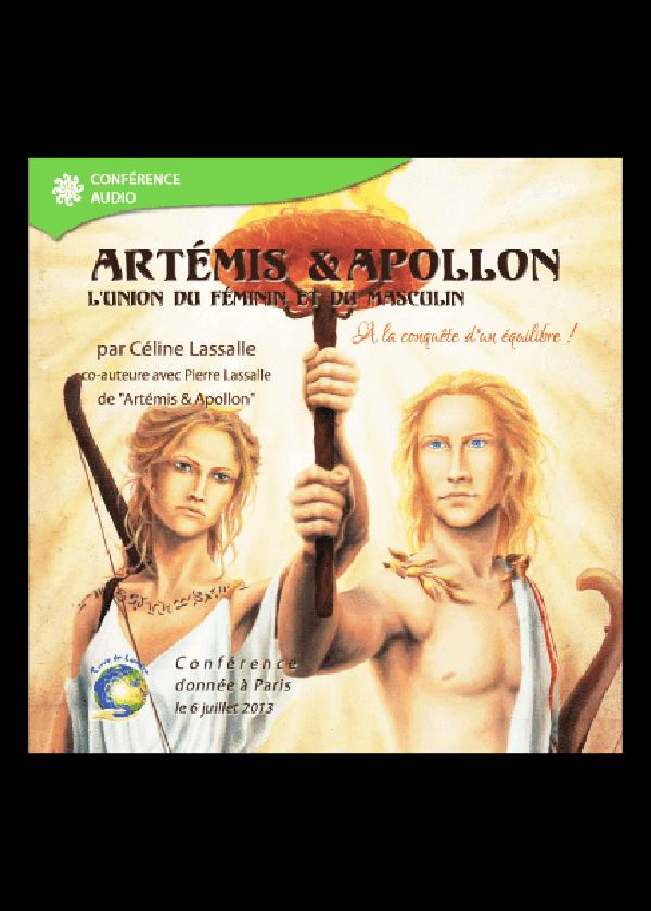 cd mp3 conférence Artémis et Apollon