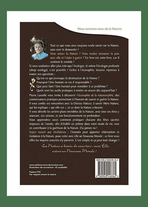 livre Natura couverture - Pierre Lassalle