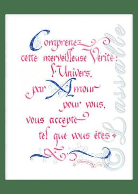 calligraphie Merveilleuse vérité - Jane Sullivan