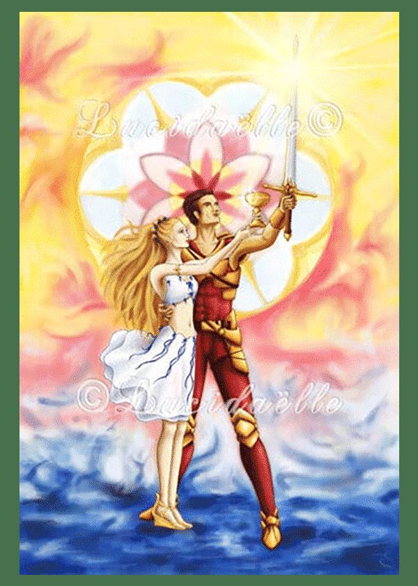 poster Le Couple Vertueux - Lucidaëlle
