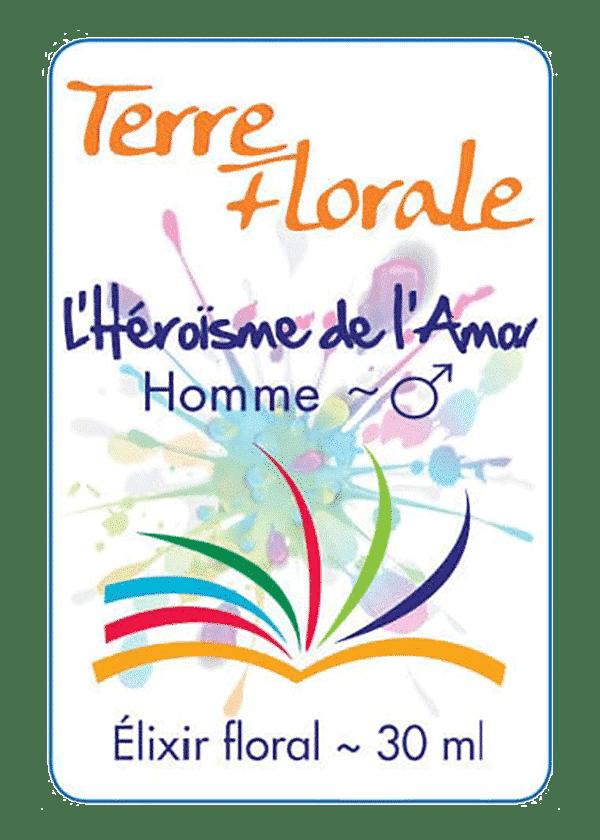 élixir floral Héroïsme de l'Amour Homme - Terre Florale