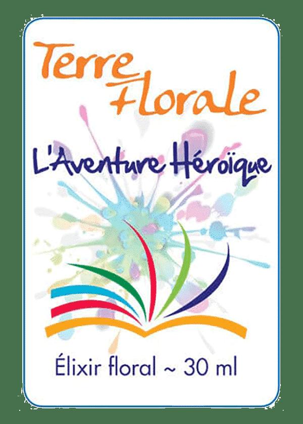 élixir floral Aventure Héroïque - Terre Florale