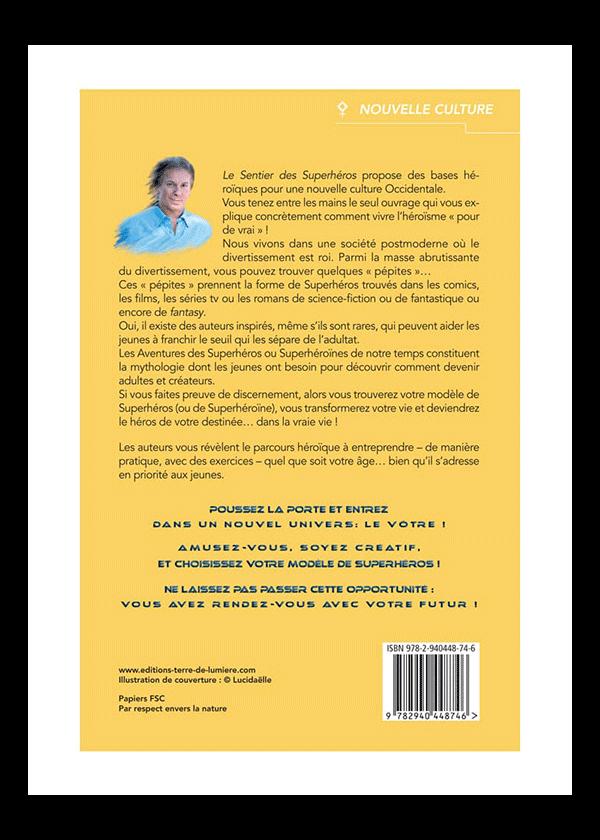 livre Le Sentier des Superhéros couverture - Pierre Lassalle