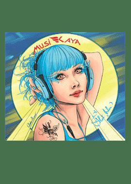 cd Flot Bleu - MusiKaya