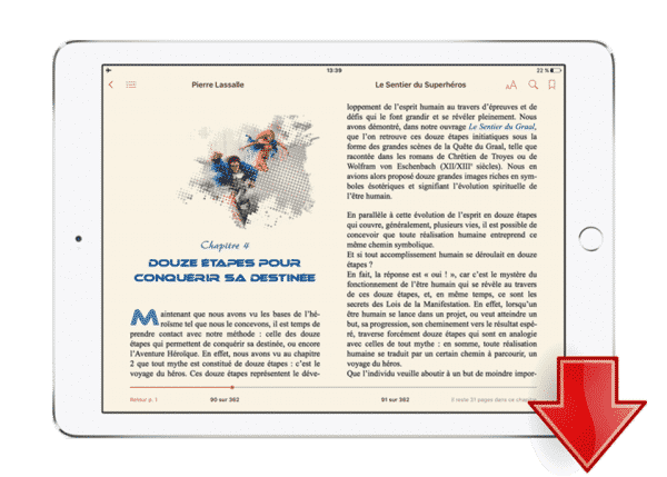 ebook sentier des superheros