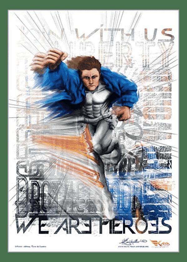 poster Jessie Hero - Kaya Team Universe