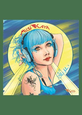 carte postale Amber Sweet - Kaya Team Universe