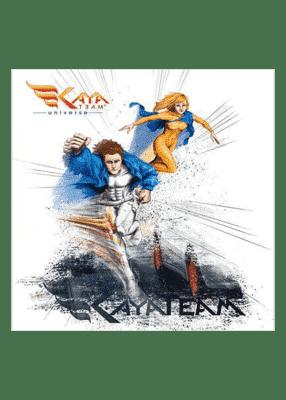 carte postale Duo Kaya Team - Kaya Team Universe