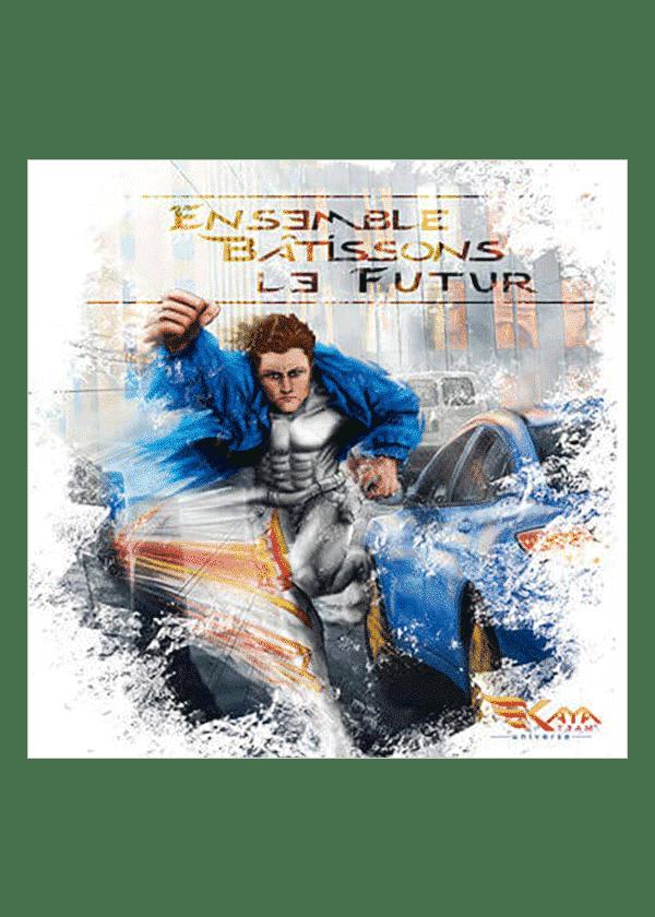 carte postale Jessie Bâtissons le Futur - Kaya Team Universe