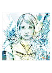 carte postale Kaya bleu - Kaya Team Universe