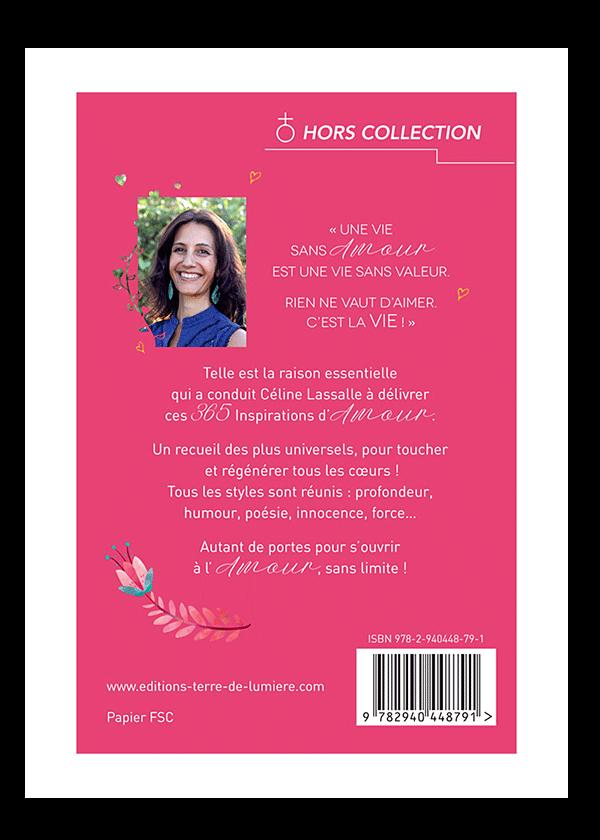 livre 365 Inspirations d'Amour couverture - Céline Lassalle