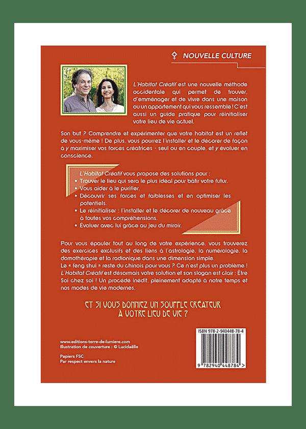 livre L'Habitat Créatif couverture - Céline et Pierre Lassalle
