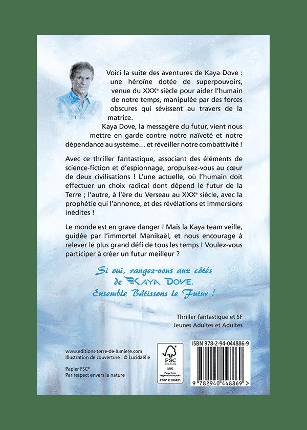 livre Kaya Dove 2 couverture - Pierre Lassalle