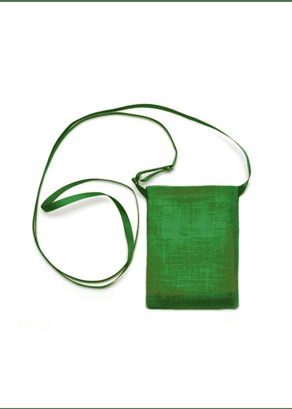 Pochette pour cef en coton bio