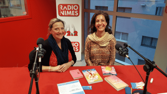 Céline Lassalle nous parle d'Amour et d'Ouverture du Coeur sur Radio Nîmes